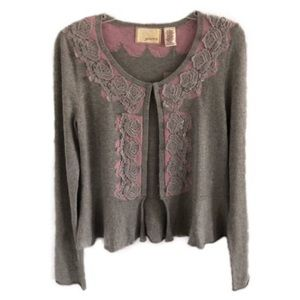 ANTHROPOLOGIE Guinevere Colette cardigan M • NEW